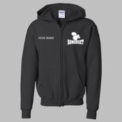 SEZIP - 18600B Youth Heavy Blend™ Full-Zip Hooded Sweatshirt
